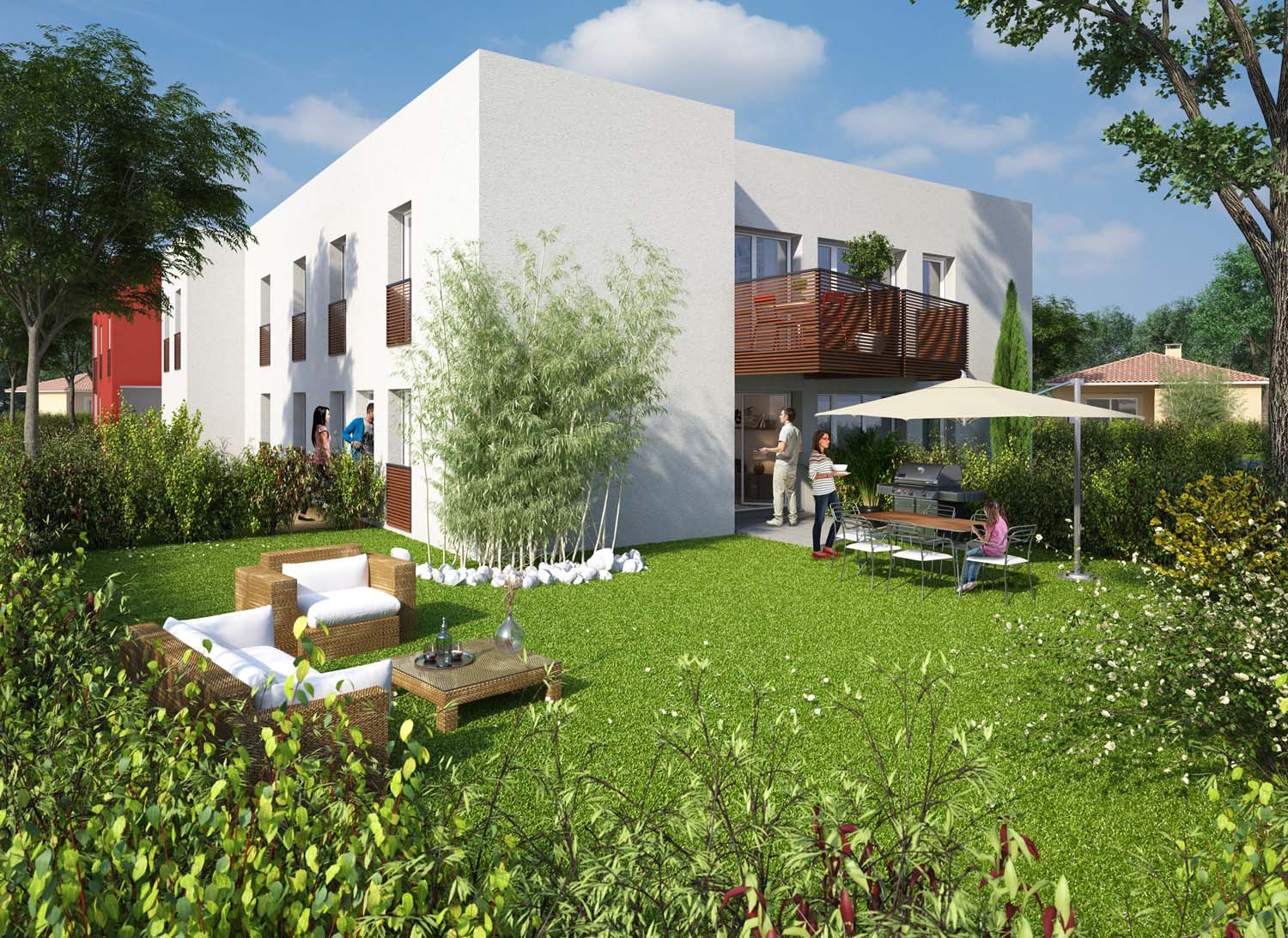 Le jardin des sens programme immobilier loi pinel neuf for Immobilier neuf gironde